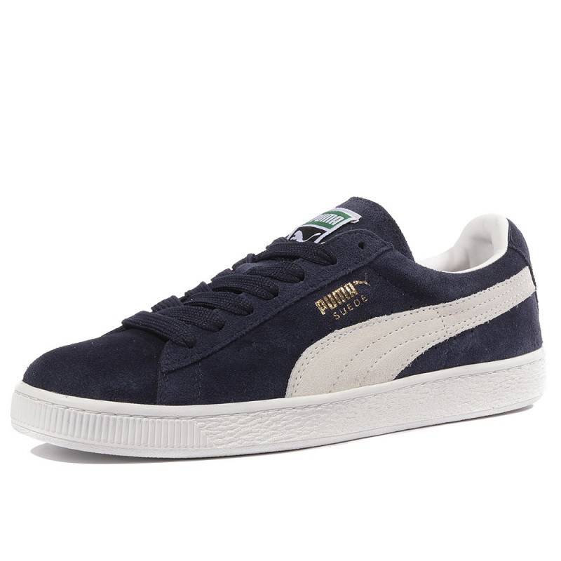 puma baskets bleu
