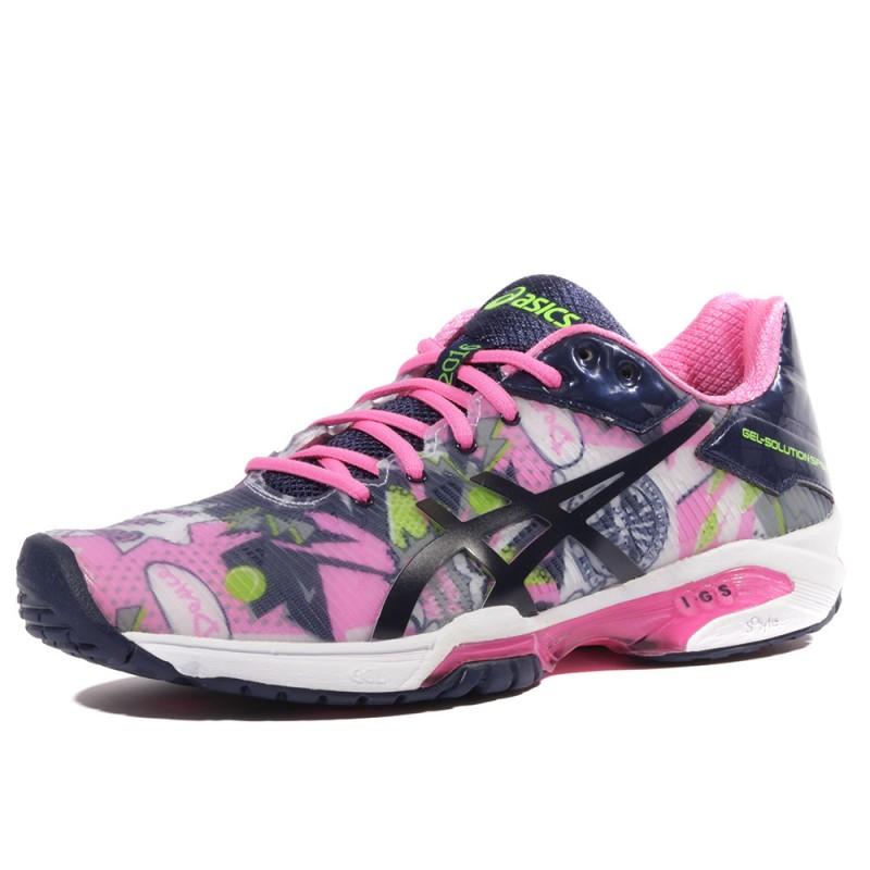 Asics Femmes Gel-Glorify Chaussures De Course À Pied Baskets Sport Trainers Noir