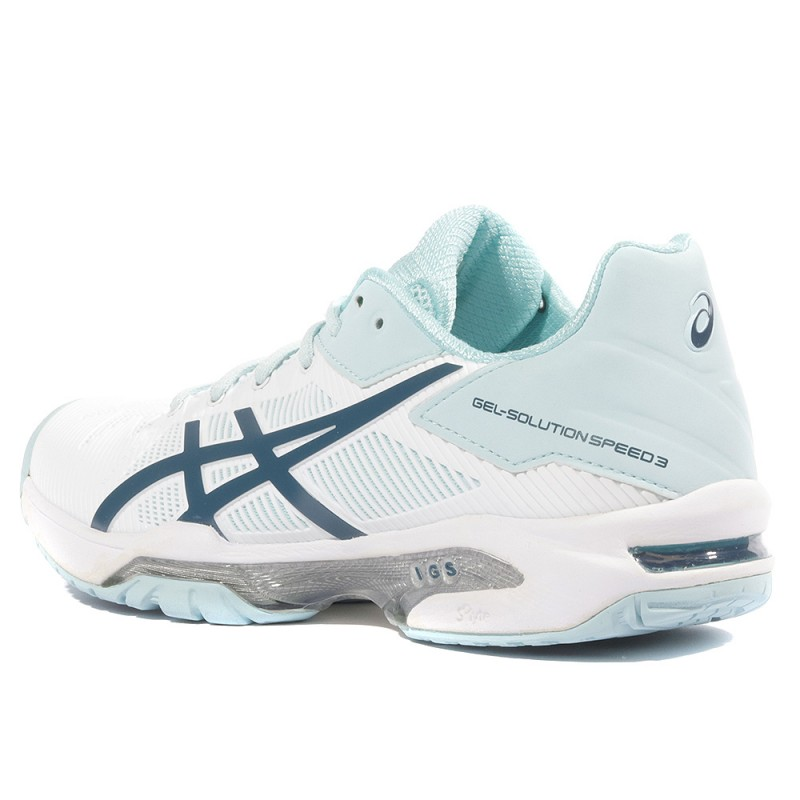 CHAUSSURES ASICS FEMME Gel Resolution 6 Tennis taille Blanc Blanche Synthétique