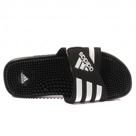 Adissage Homme Tongs Noir Adidas