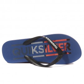 Molokai Wordmar Homme Tongs Bleu Quiksilver