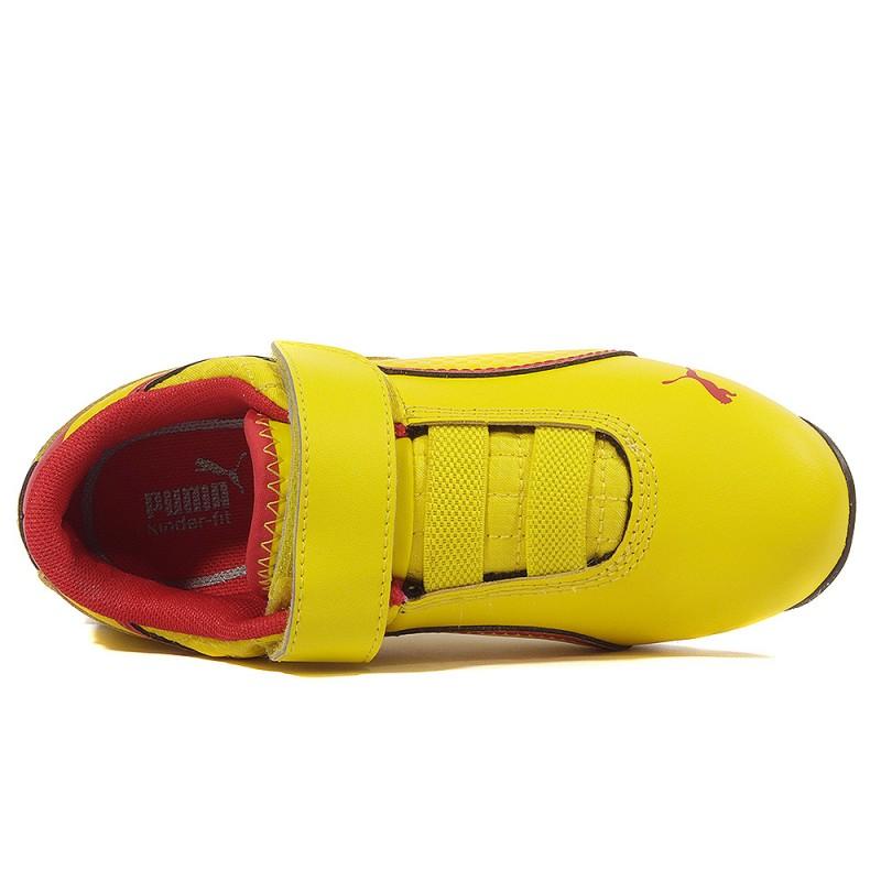best loved d0a6a 8a91e Drift Cat 6 Scuderia Ferrari Garçon Chaussures Jaune Puma