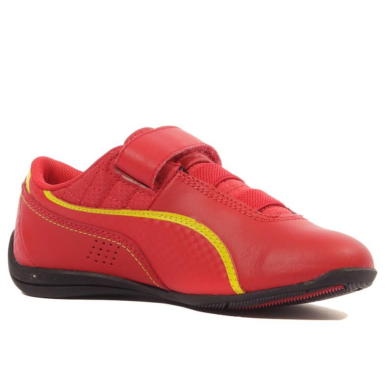 Drift Cat 6 Scuderia Ferrari Garçon Chaussures Rouge Puma