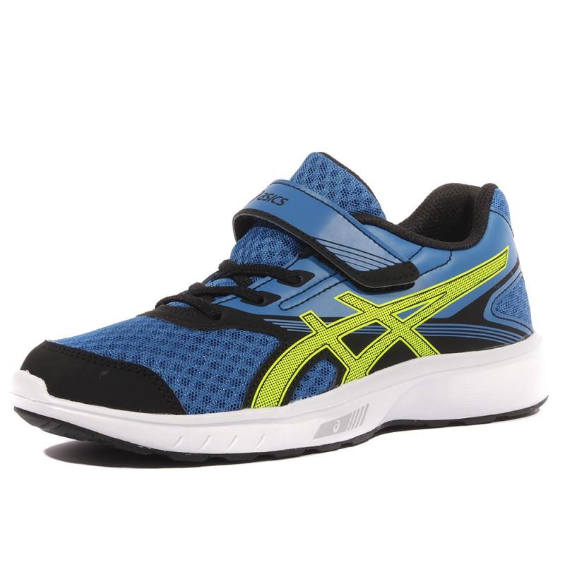 quality design def60 b8295 Stromer PS Garçon Chaussures Running Bleu Asics