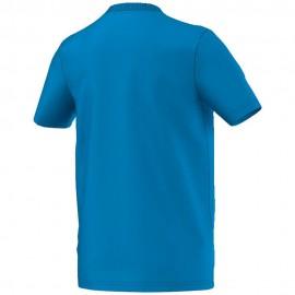 Yb Gfx Garçon Tee-Shirt Bleu Adidas