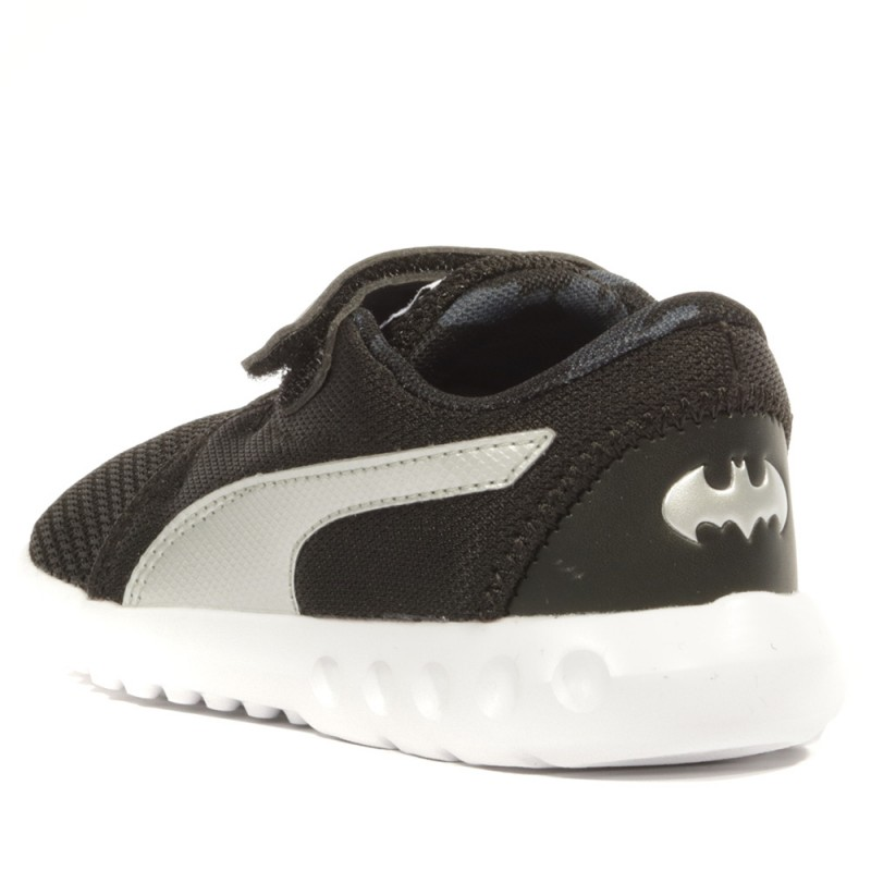 8qwzxpx6v 2 Garçon Jl V Bébé Carson Puma Chaussures Batman Noir rxodCBe