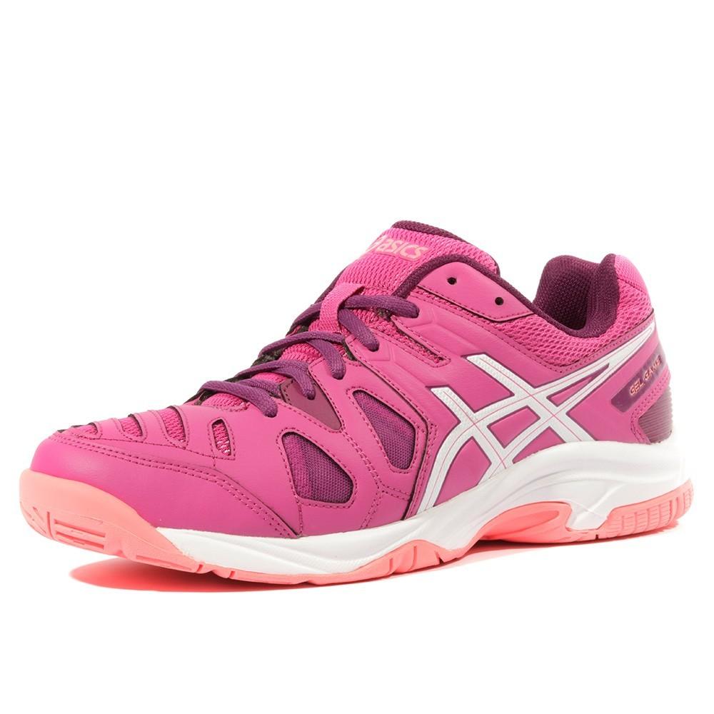 Sur Gel Game Femme Fille Chaussures Rose Gs 5 Détails Asics Tennis RLj54A