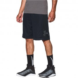 Ua Isolation 11In Homme Short Basketball Noir Under Armour