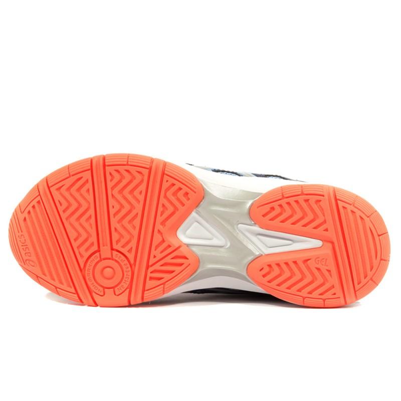4 Asics Ball Chaussures Beyond Femme Volley Fille Gel Gs Bleu jLc3q45AR