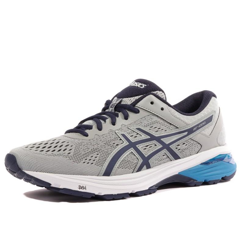 1000 Gris 6 Asics Gt Running Chaussures Homme Ibg7mvYf6y