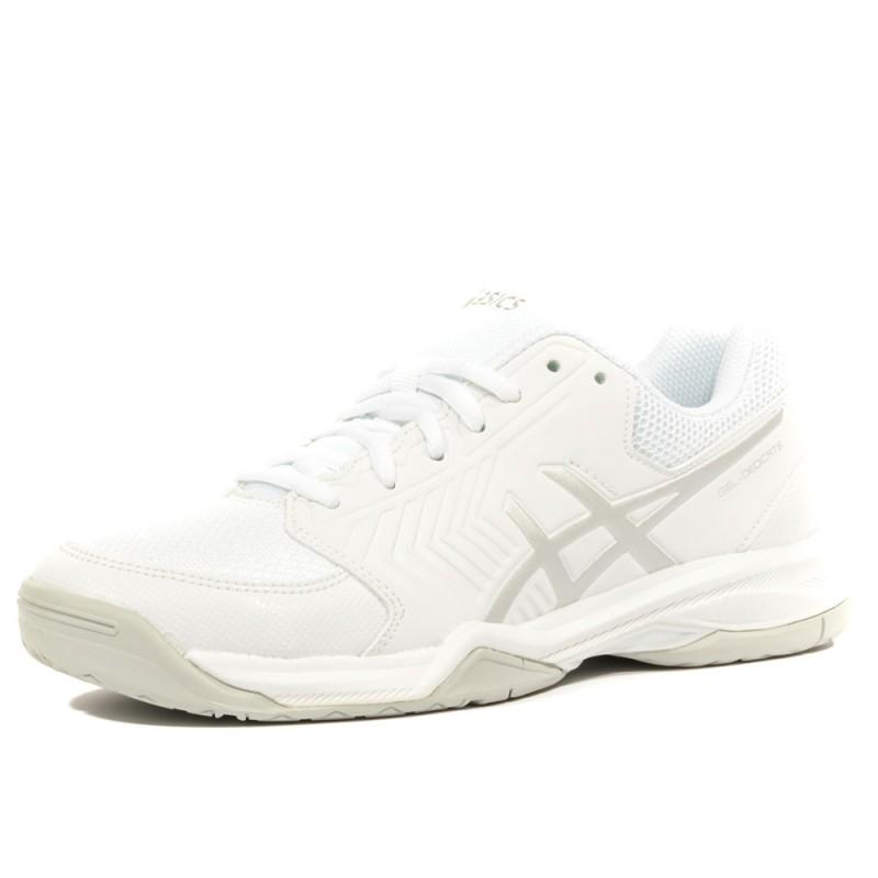 Chaussures Femme Tennis Asics Dedicate Blanc 5 Gel w0nvmN8