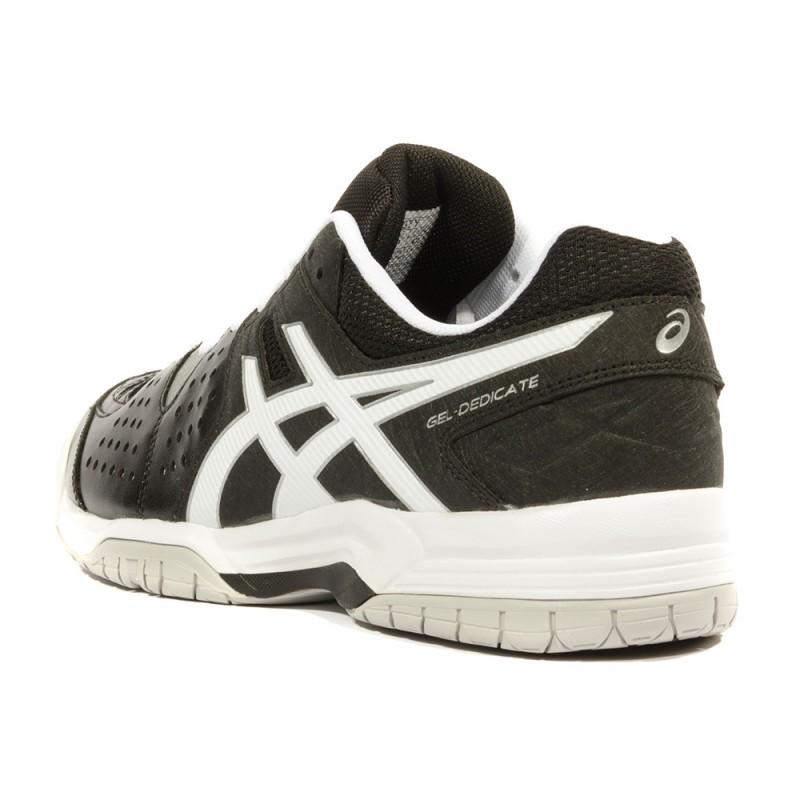 Gel Dedicate 4 Homme Chaussures Tennis Noir Asics