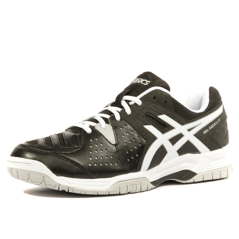 Dedicate Gel 4 Chaussures Homme Noir Tennis Asics nyvmNw80O