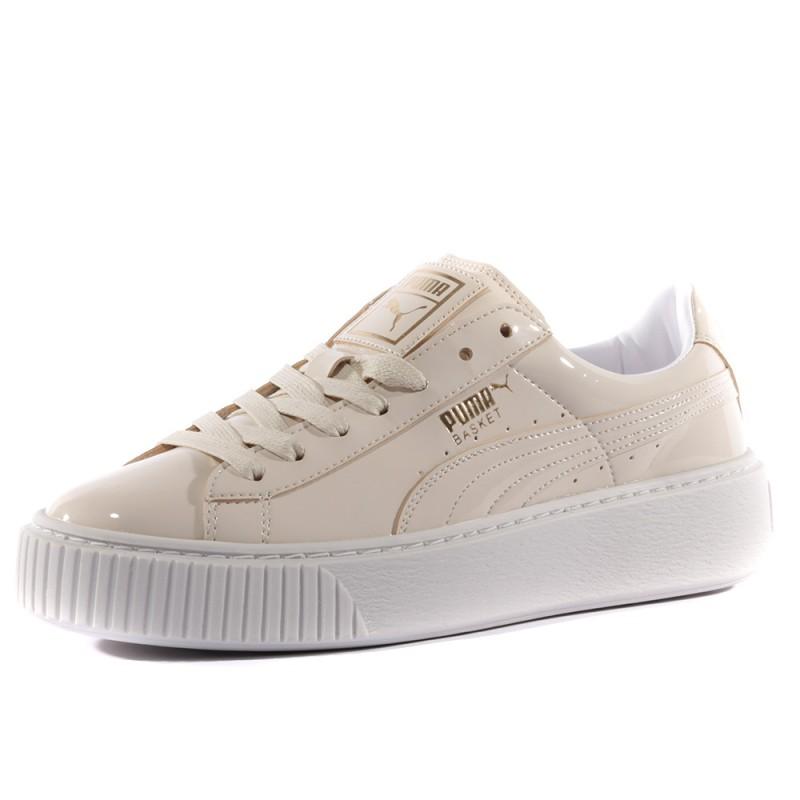 Chaussures Femme Platform Patent Beige Puma eD2EWH9IYb