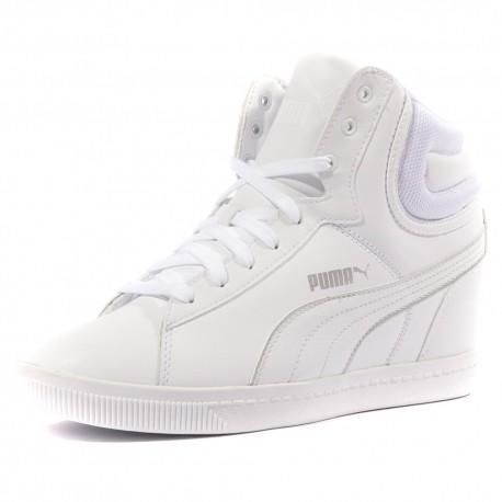 puma blanche femme chaussure
