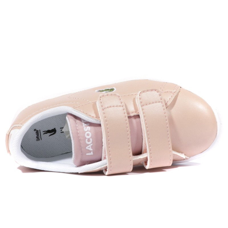 Carnaby Evo Bébé Fille Chaussures Rose Lacoste