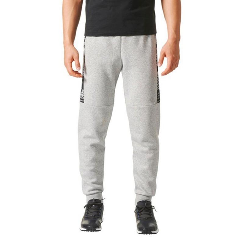 adidas pantalon gris homme