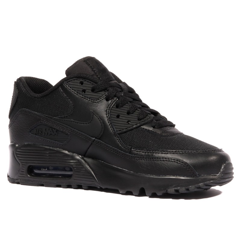 recognized brands detailed images 100% genuine Air Max 90 Mesh Garçon/Fille Chaussures Noir Nike