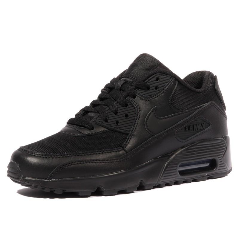 Air Max 90 Mesh Garçon/Fille Chaussures Noir Nike