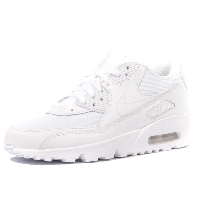lowest price 1a9f1 88309 Air Max 90 Mesh Garçon Fille Chaussures Blanc Nike