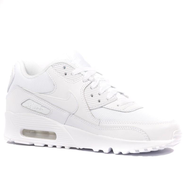 Air Blanc Nike Max Garçonfille Chaussures 90 Mesh 8nvOm0yNw