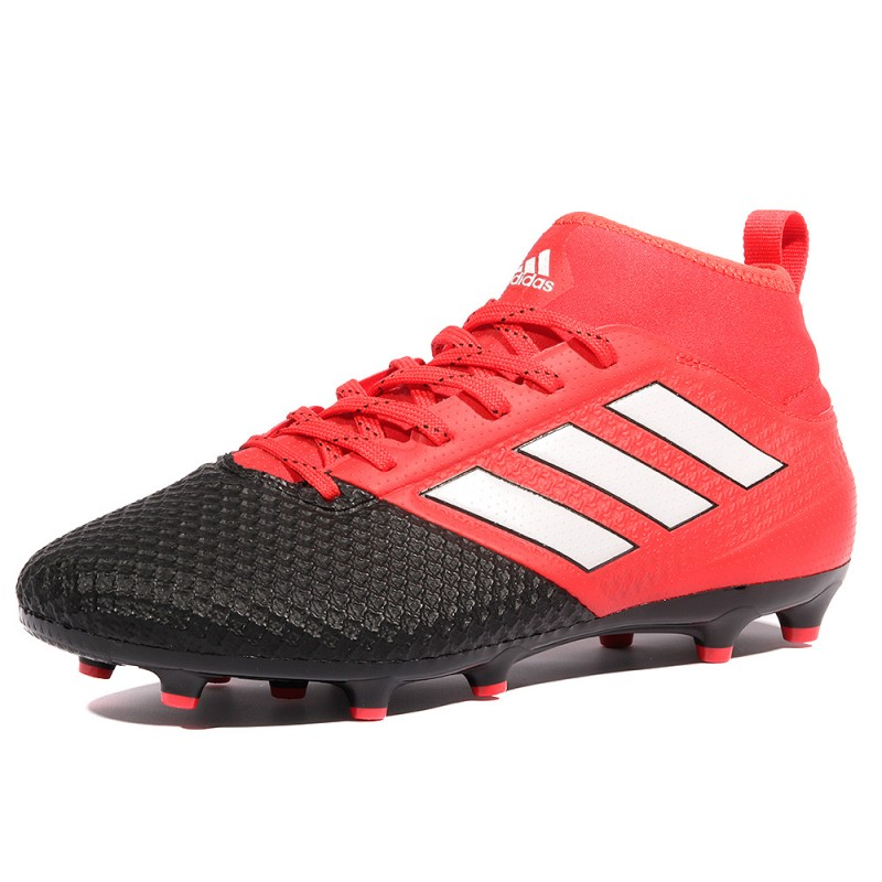 Ace 17.3 Primemesh Fg Homme Chaussures Football Rouge Adidas