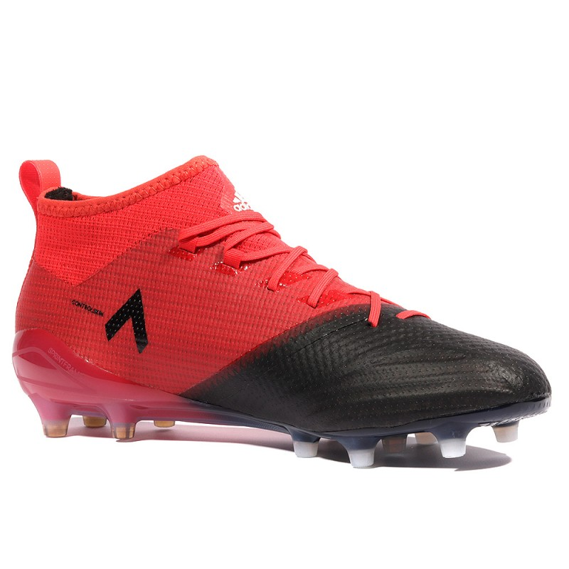 1 Fg Homme Adidas 17 Rouge Ace Primemknit Chaussures Football qUSMVpzG