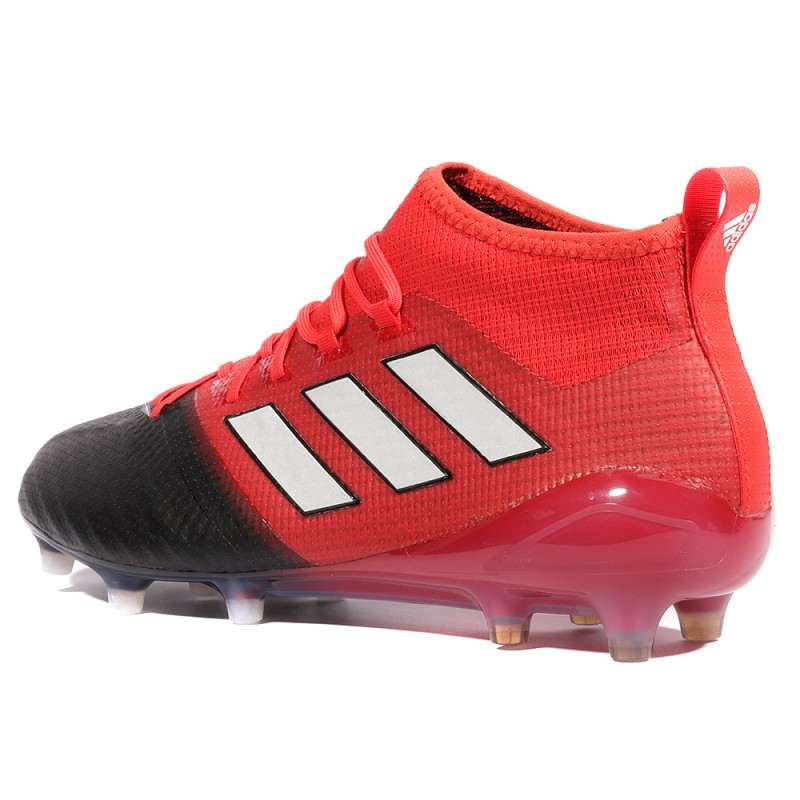 Ace 17.1 Primemknit FG Homme Chaussures Football Rouge Adidas