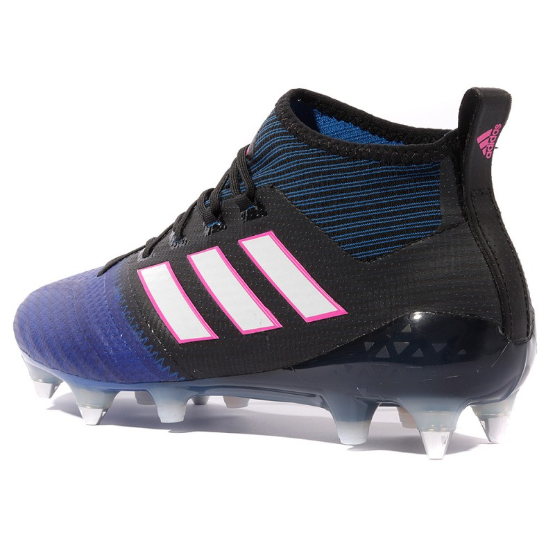 Ace 17.1 Primemknit SG Homme Chaussures Football Noir Adidas