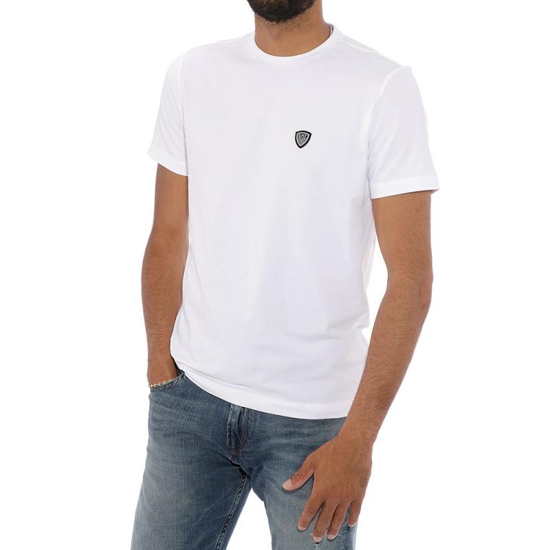 tee shirt homme blanc emporio armani. Black Bedroom Furniture Sets. Home Design Ideas