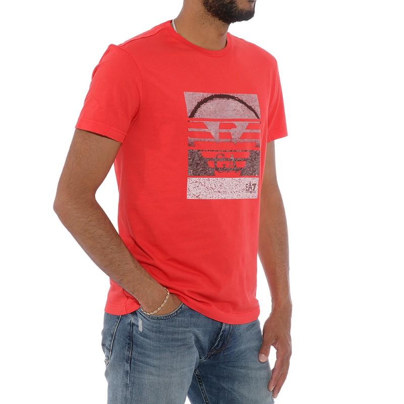 tee shirt armani rouge