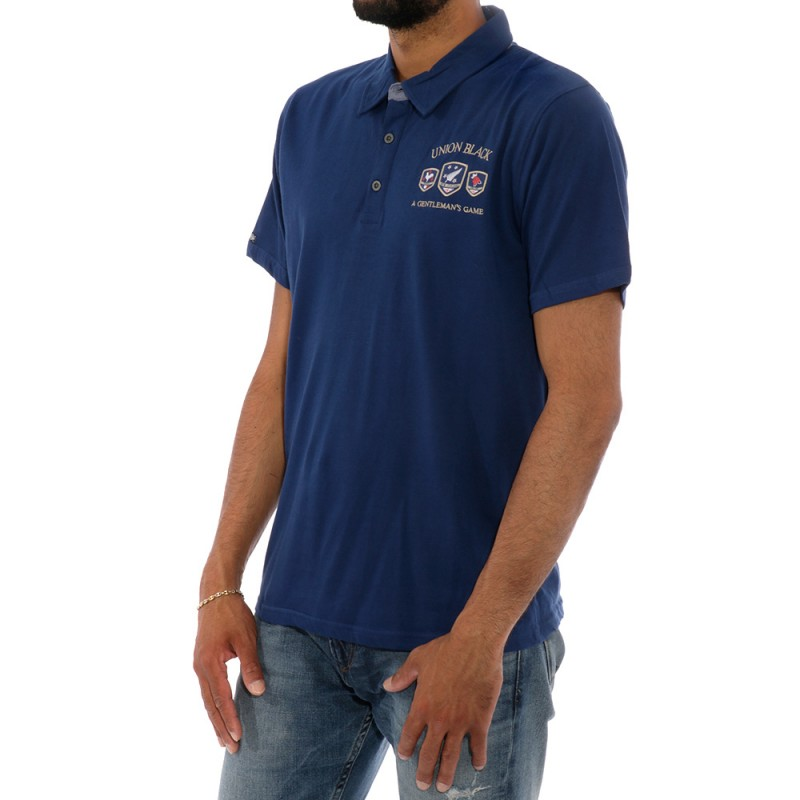 Bleu Rugby Game Rms26 Polo Homme drCBeoQxW