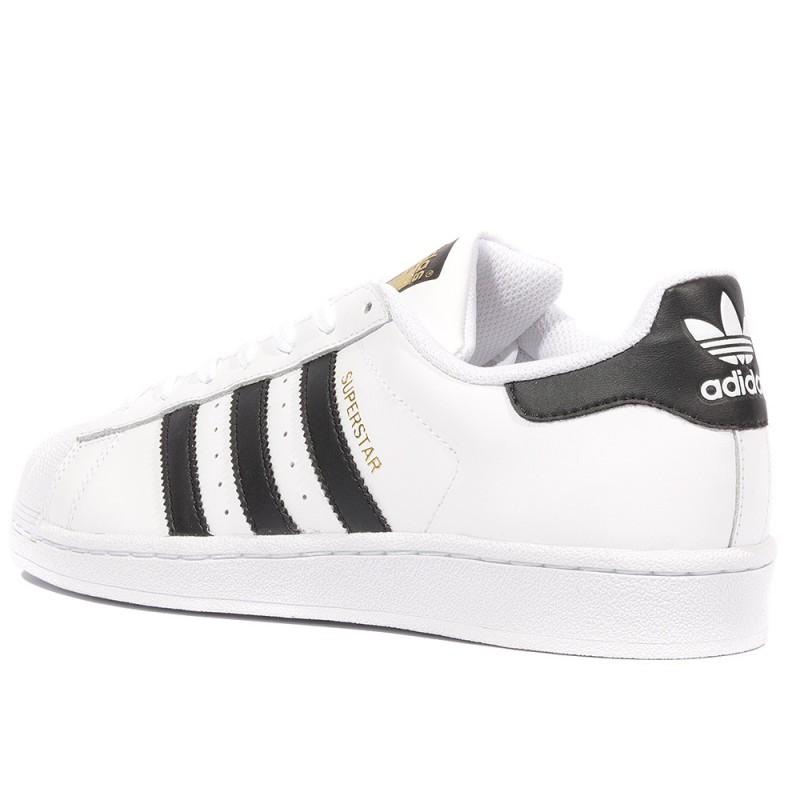 Superstar Homme Femme Chaussures Blanc Adidas