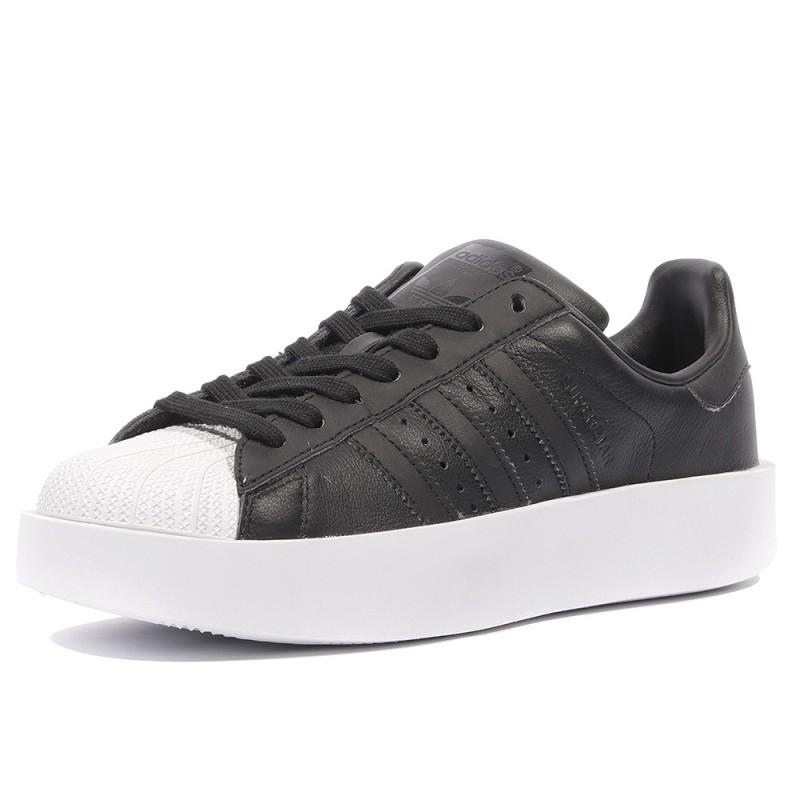 adidas superstar bold noir
