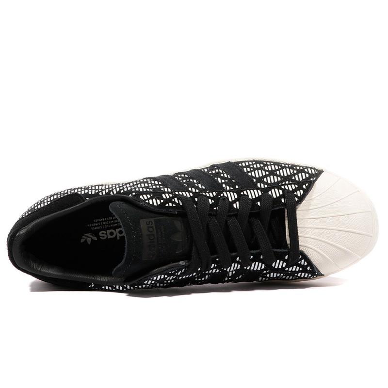 adidas noir superstar femme