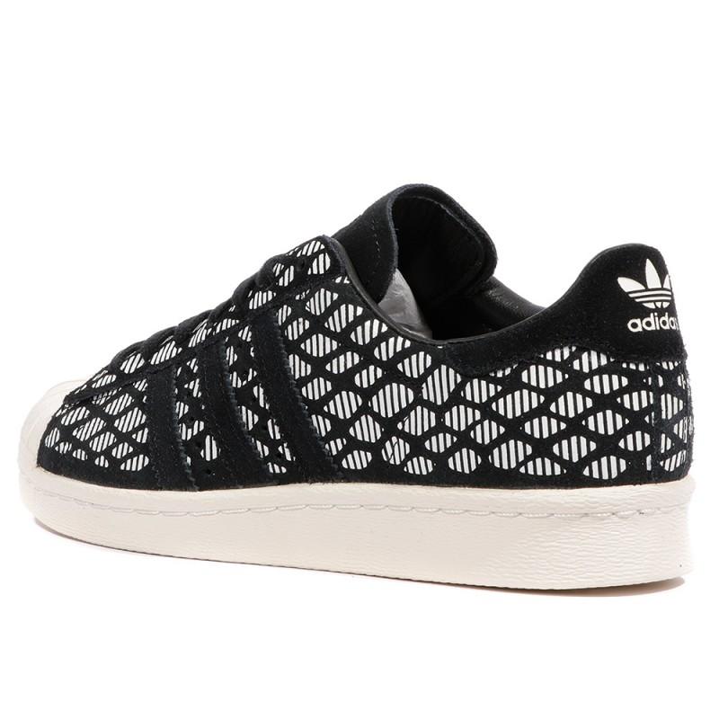 Noir Superstar Femme Adidas 34r5laj Chaussures 0v8wNnm