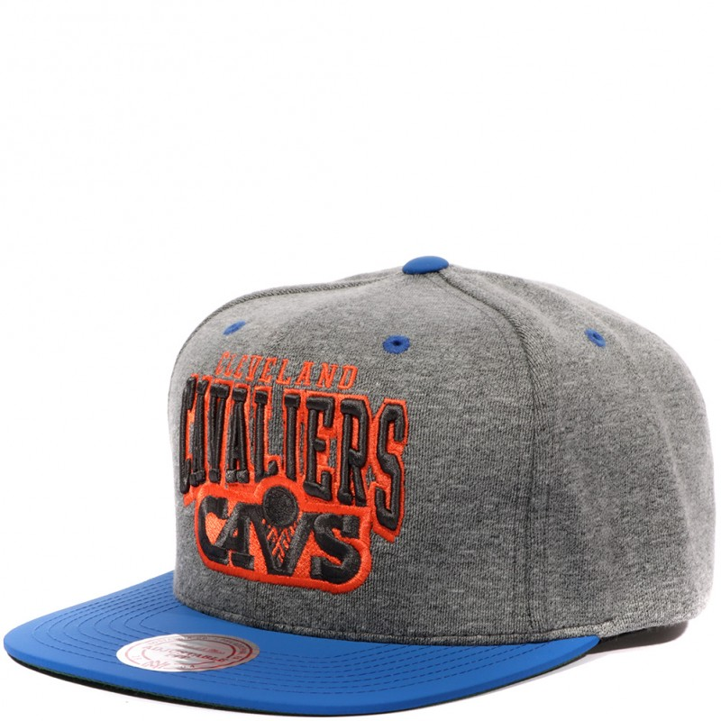 Snapback Basketball Gris Homme Cavaliers Mitchellamp; Ness OXPZiuwkT
