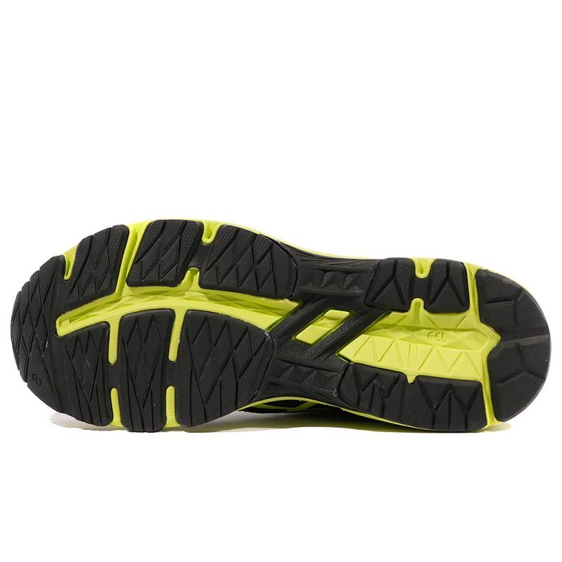 Gs Garçon 6 Running Chaussure Asics Jaune 1000 Noir Gt 9IDEH2