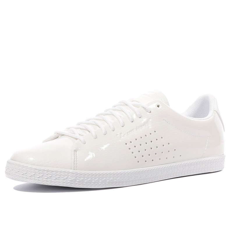 45c9dc14fa46 Charline Coated S Femme Chaussures Blanc Le Coq Sportif