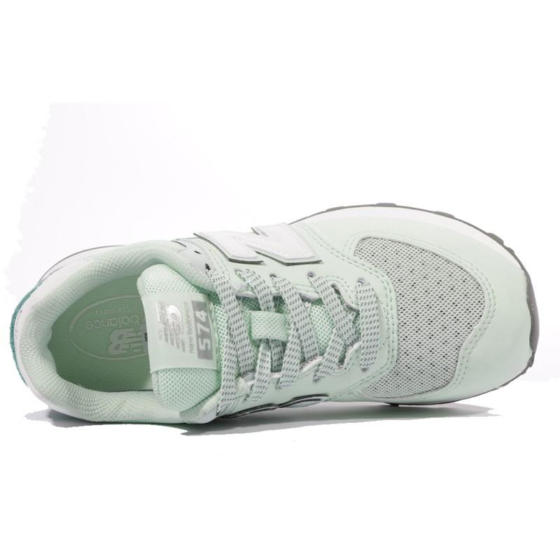 the latest ef49a 29908 Pc574 Garçon Chaussures Vert New Balance