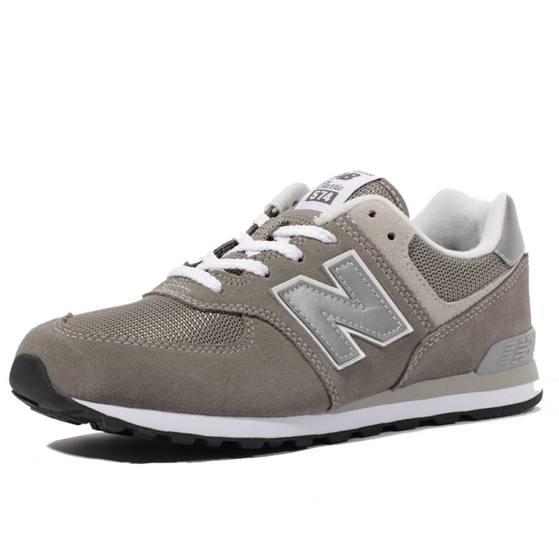 new balance fille gris