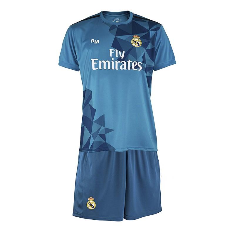 pretty nice 7ee6c 575f2 Rma Garçon Minikit Real Ronaldo Football Bleu