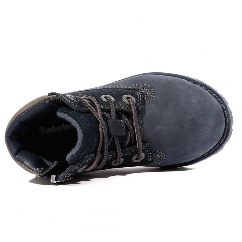 Chaussures Bleu 6 Pine Boot Pokey In Garçon Timberland 35LAq4jR
