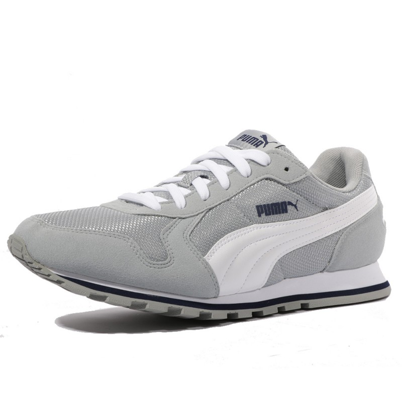 4032bf1a39301 St Runner Mesh Quarry Homme Chaussures Gris Puma