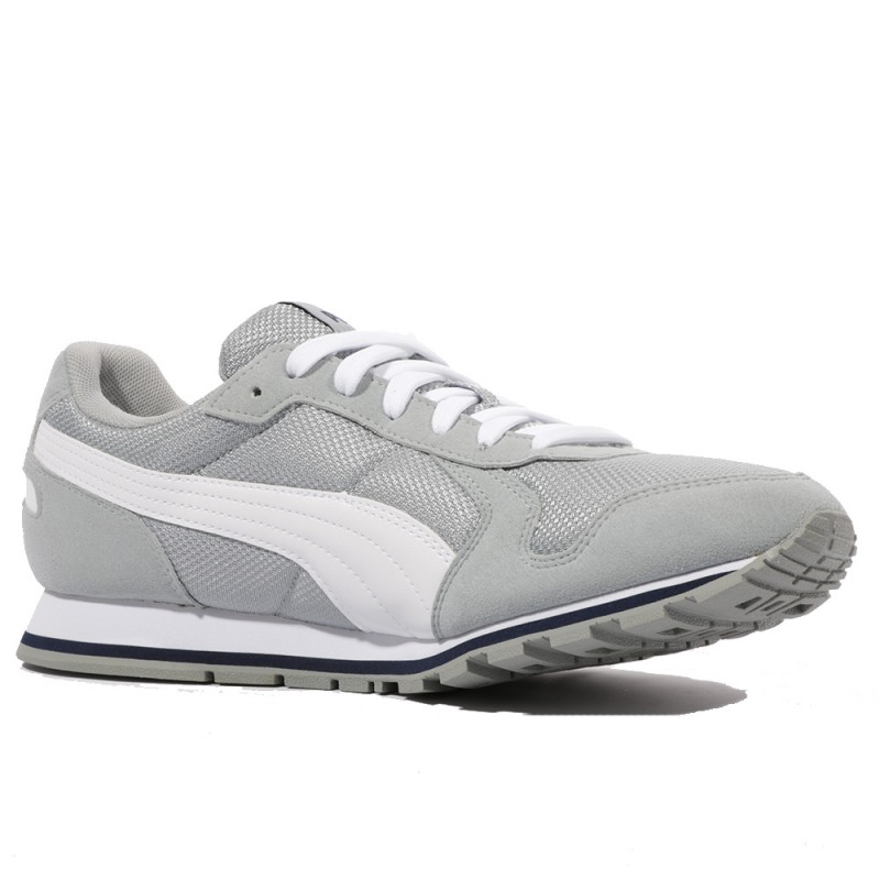 Puma Chaussures Mesh Homme Gris Runner Quarry St 4xRqnAzYq