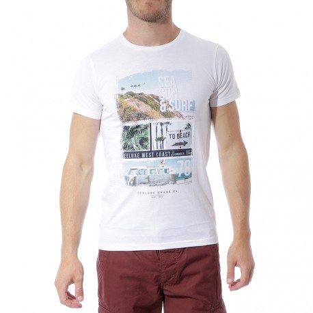 Van Garçon Tee Shirt Blanc Deelux 74