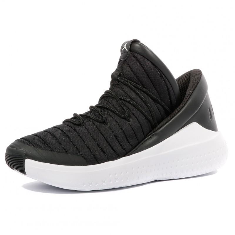 Luxe Garçon Noir Jordan Flight Chaussures 8wOknPX0