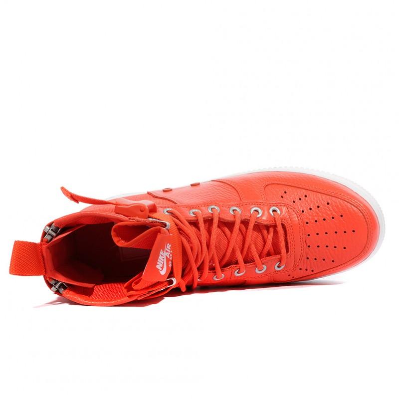 Af1 Chaussures Mid Sf Homme Nike Orange FT1J3lKc