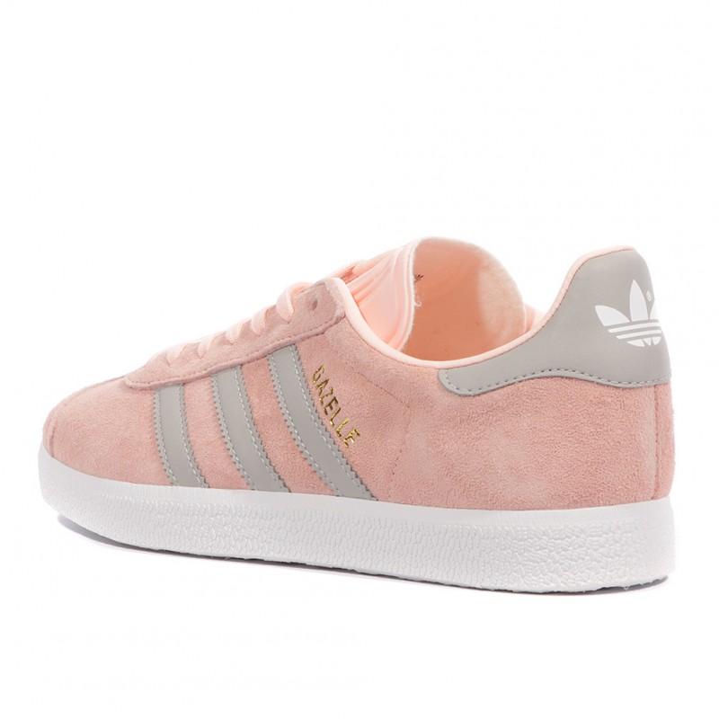 Gazelle Femme Chaussures Rose Adidas