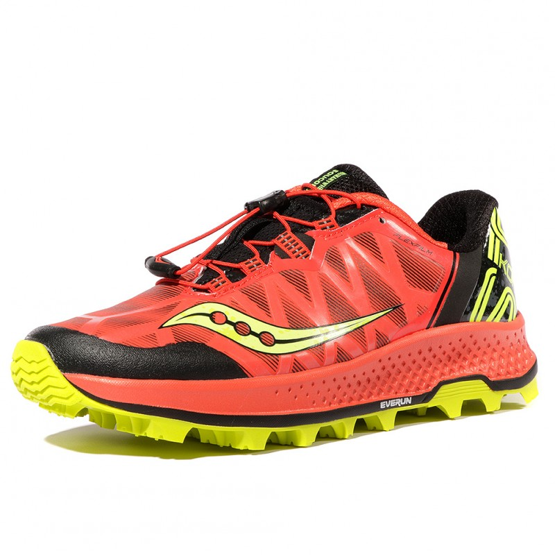 5dd01b4c98c Koa ST Homme Chaussures Trail Rouge Saucony